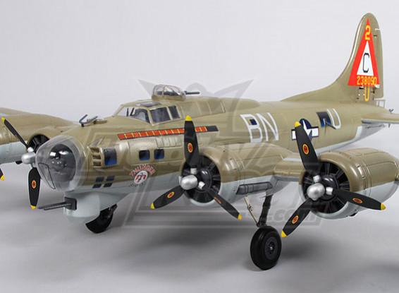 B-17 Flying Fortress (Olive) Super-Details 1600mm (PNF)