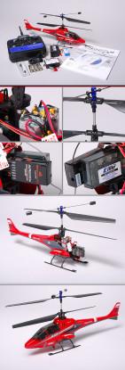 E-Flite BladeCX2 Koaxialhubschrauber & 5CH 2,4-GHz-TX & RX (Mode 2)