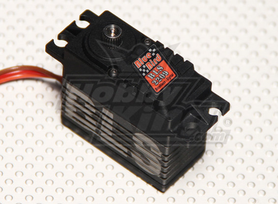 BLS-2209 High Voltage (7,4V) Brushless Digital Servo w / Titanlegierung Getriebe 26.4kg / 0.08sec / 66g