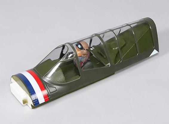 P-40N (Grün) 1700mm - Ersatz Canopy