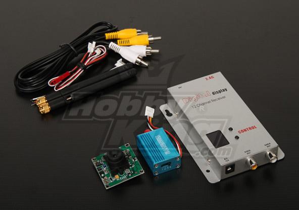 2,4 GHz 100mW Tx / Rx & 1/3-Zoll-CCD-Kamera NTSC