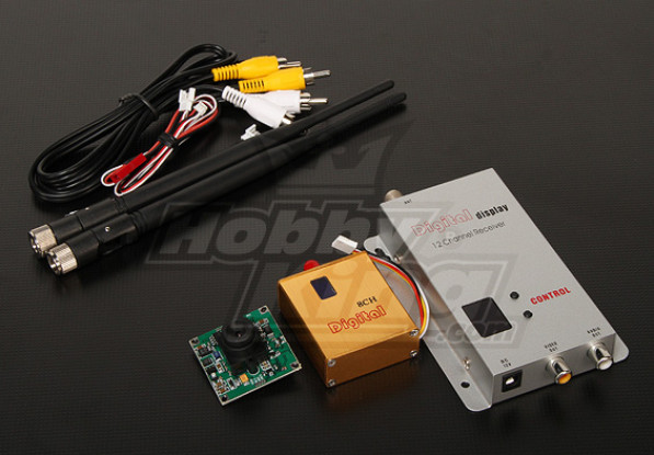 900MHZ 800mW Tx / Rx & 1/3-Zoll-CCD-Kamera NTSC