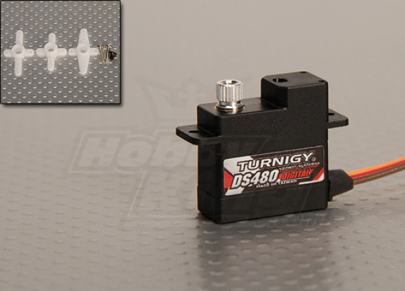 Turnigy DS480 Digital Servo 1,85 kg / .068sec / 10.9g
