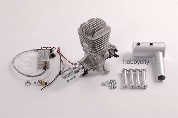 DLE-55 55cc Gasmotor 5.5HP / 7500rpm