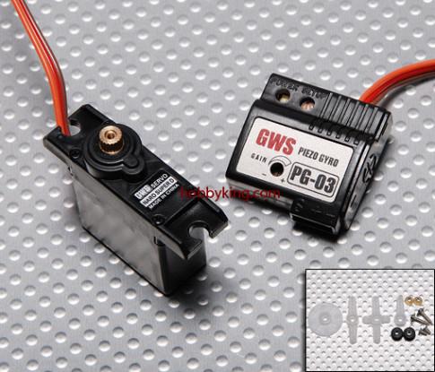 GWS Naro Super-19g Digital Servo / JR & Gyro