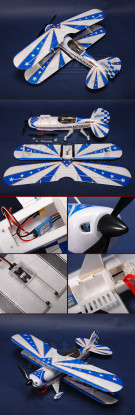 HobbyKing® ™ Pitts Special Plug-n-Fly (4 Aileron-Version)