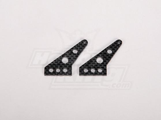 Carbon-Faser-Control-Horn 35x24mm (2ST / bag)