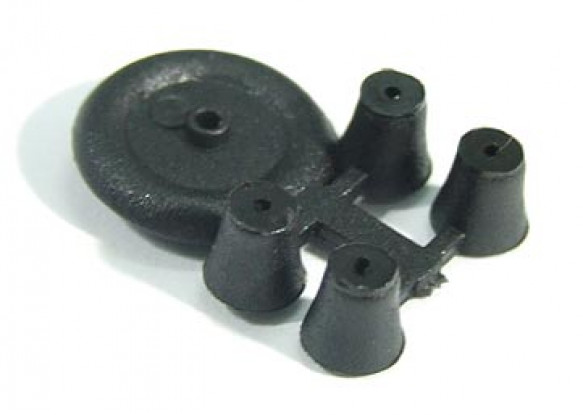 Tiny-Rad für die Innen- / ultra light 12mm Diam