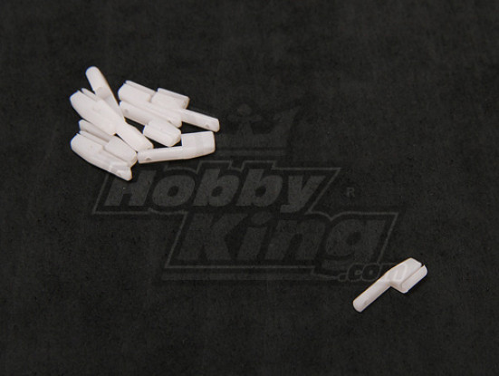 Nylon Stopper 12x4x1.5mm (10pcs / set)