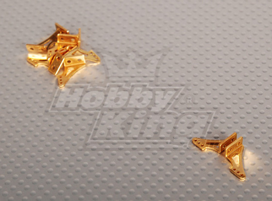 Alloy Horn L13.5 x H14mm (5 Paare / bag)