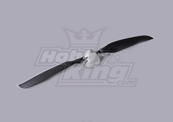 Faltpropeller W / Alloy Hub 45mm / 3mm Welle 12x6 (1pc)