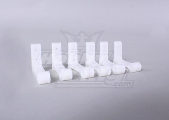 Ersatz-L-Winkel für Schalldämpfer Schnellwechselhalterung (F3-A 0,60-1,20 Klasse) (6pcs / bag)