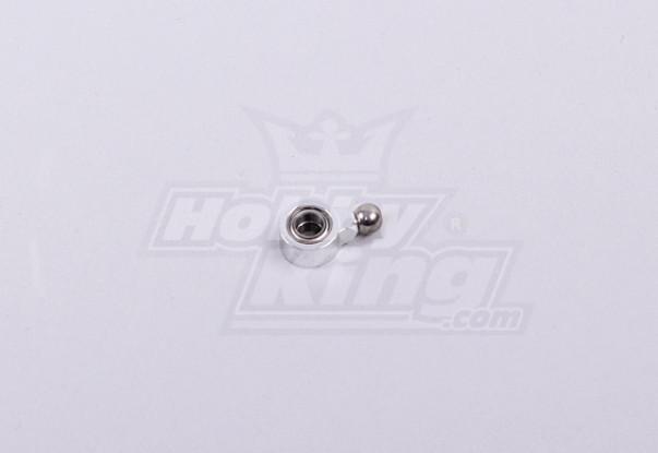 450 Größe Heli Metall Hecksteuer Slider Sleeve w / Lager