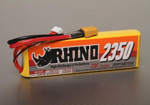 Rhino 2350mAh 4S1P 20C Lipo-Pack