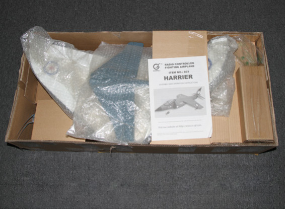 SCRATCH / DENT - Harrier 70mm EDF Jet - 780mm (PNF)