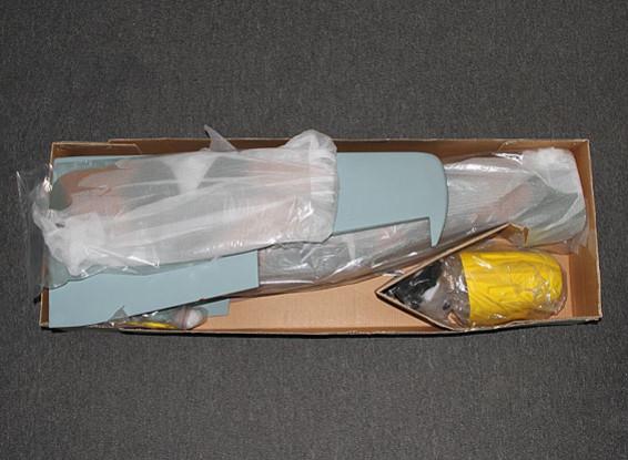 SCRATCH / DENT - Hobbyking ME-109 Balsa 1600mm w / Retracts 0,60 ~ 0,90 Glow (ARF)