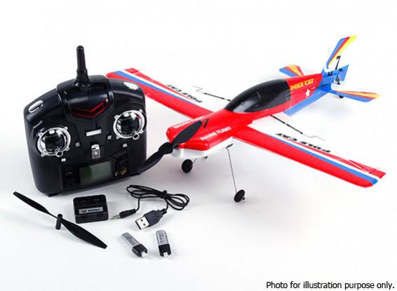 SCRATCH / DENT - WLToys F939 PoleCat 400mm 2.4G 4CH Mode 2 (Ready To Fly)