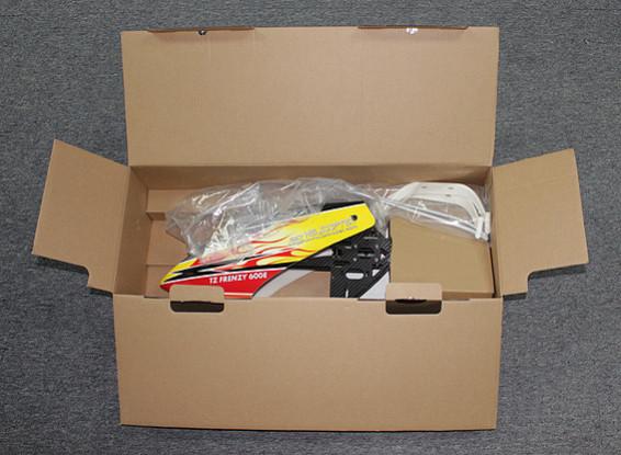 SCRATCH / DENT - TZ Frenzy 600E DFC Flybarless Elektro 3D Helicopter Kit