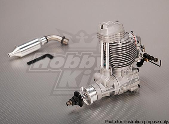 SCRATCH / DENT - ASP FS120AR Four Stroke Glow Motor