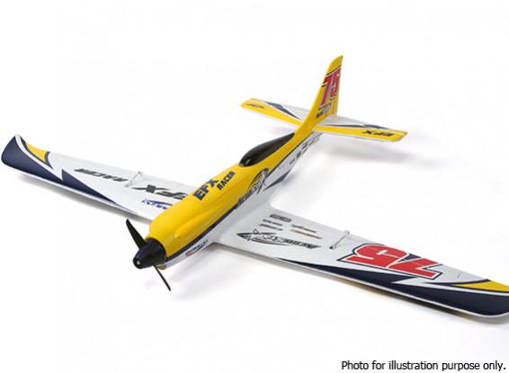 SCRATCH / DENT - Durafly ™ EFX Racer High Performance Sports Modell (PnF) - gelbe Ausgabe