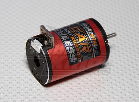 Hobbyking X-Car 10.5 Schalten Sensored Brushless Motor 3200Kv
