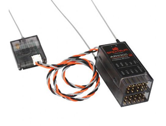 AR9300 DSM2 9-Kanal-Carbon-Rumpf-Empfänger