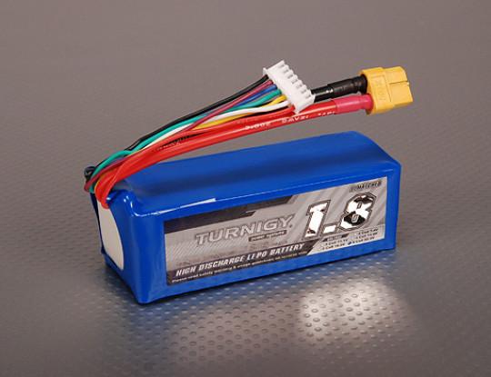Turnigy 1800mAh 6S 40C Lipo-Pack