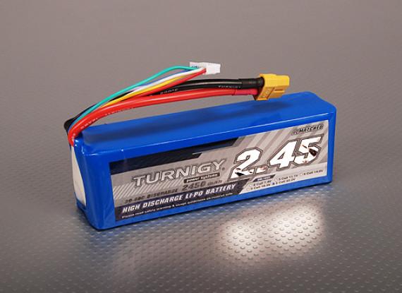Turnigy 2450mAh 6S 30C Lipo-Pack