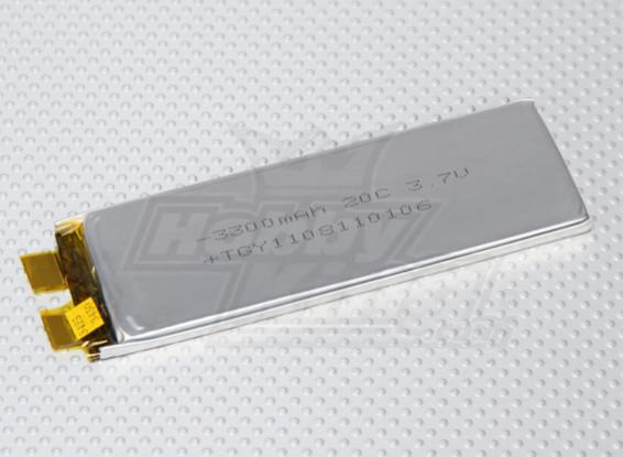 Turnigy 3300mAh 1S 20C Lipo (Single Cell)