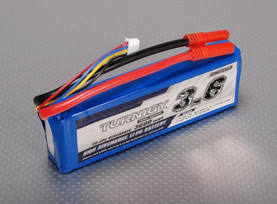Turnigy 3600mAh 3S 30C Lipo-Pack