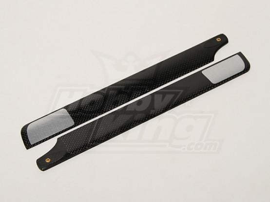 288mm TIG Carbon Hauptrotorblätter