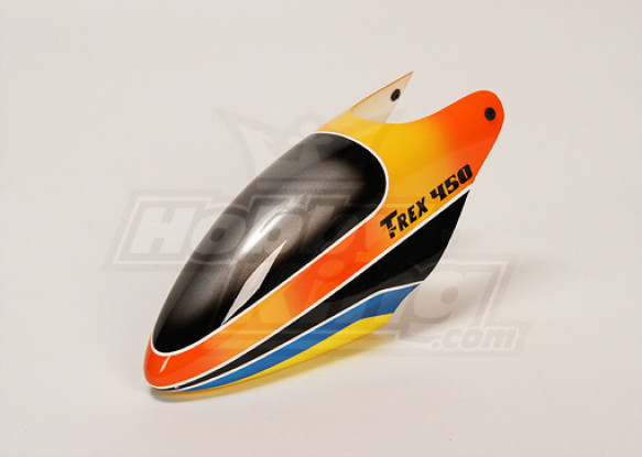Fiberglass Canopy für Trex-450 V2