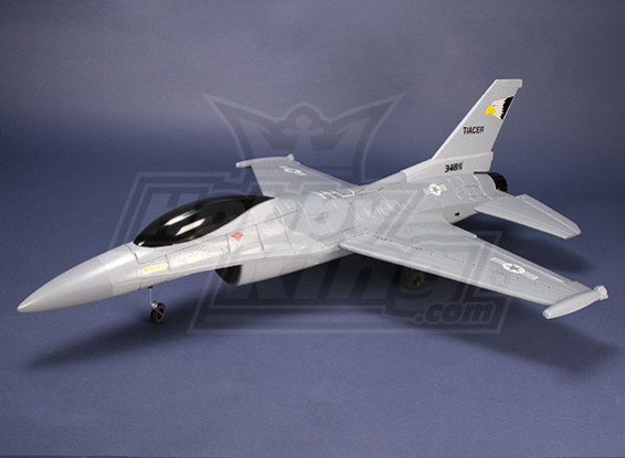Kämpfer R / C Jet Grau EPO (KIT)