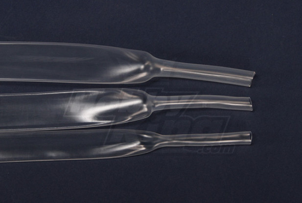 Turnigy Schrumpfschlauch 16mm Transparent (1mtr)