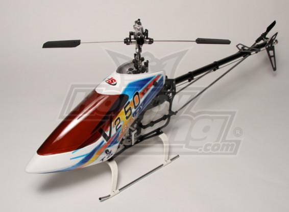 TZ-V2 .50 Größe Nitro 3D Helicopter Kit (Torque Tube)