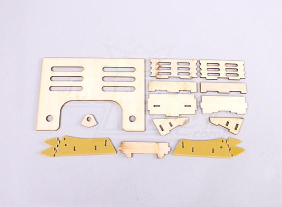 Montagesatz - KLAGE Hobbyking Vanquish 1075MM BOOT
