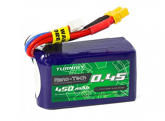 Turnigy-Nano-Tech-Plus-450mAh-4S-70C-Lipo-Pack-w-XT30-9210000305-0