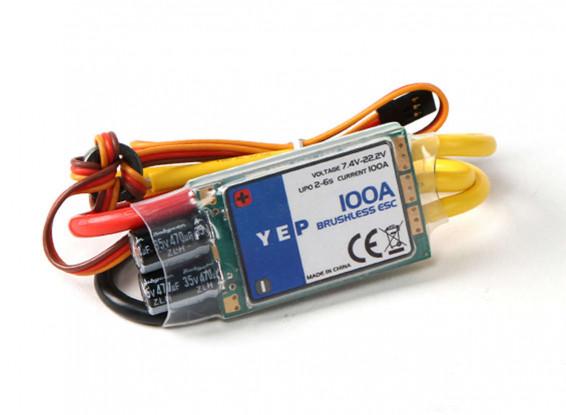 YEP 100A (2~6S) SBEC Bürstenloser Geschwindigkeitsregler