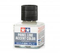 Tamiya Panel Line Enamel Accent Color Gray (40ml)