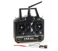 Turnigy T6A-V2 AFHDS 2.4GHz 6Ch Transmitter w/Receiver V2 (Mode 2) - receiver