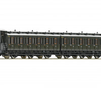 Roco/Fleischmann HO Scale 3 Axle 3rd Class Passenger Carriage Set DRG