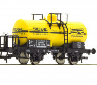 "Roco/Fleischmann HO Scale Coal Chemical Vessel Wagon ""STERAC"" DB"