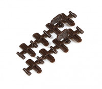 Micro Engineering HO/N Scale Code 70 to 55 Transition Plastic Insulated Rail Joiners 8pcs (26-005)