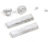 Micro Engineering N Scale Roof Vents and Fans 6pcs (80-202)