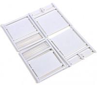 Micro Engineering N Scale Roller Shutter Doors 4pcs (80-204)