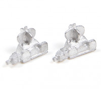 Micro Engineering N Scale Non-Operating Switchstand 2pcs (80-302)
