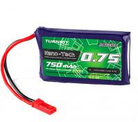 Turnigy Nano-Tech 750mAh 1S 70C Lipo Pack (JST+Walker) (HR Technology)