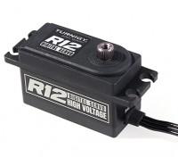 Turnigy TGY-R12 Low Profile HV High Speed Titanium Gear Digital Servo 25T 12kg / 0.06sec / 41g 1