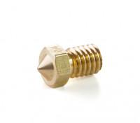 3D Printer Brass Extruder Nozzle 1.75/0.4mm (suits E3D)