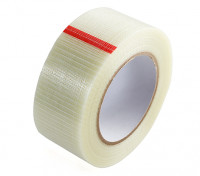 High Strength Chequered Fibre-Tape. 50mm x 50m
